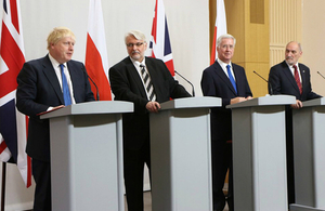 UK and Poland meet for Security and Defence Talks