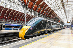 IEP train at Paddington