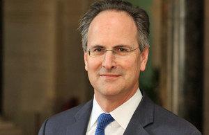 British Ambassador, Philip Parham