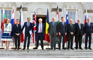 Foreign Secretary hosts talks with EU foreign ministers