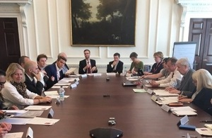 Photo of Committee's roundtable