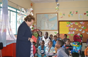 British Ambassador visits children's hospital and recovery centre