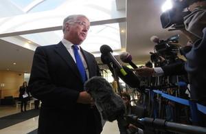 Defence Secretary, Michael Fallon