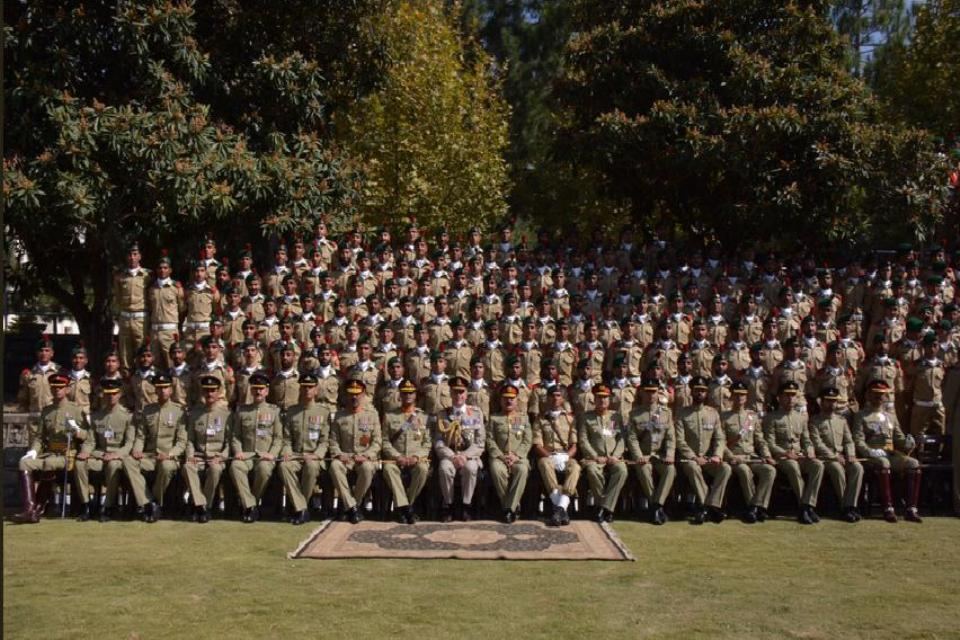 General Sir Nick Carter at PMA Kakul