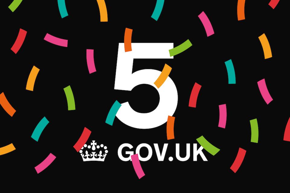 GOV.UK is 5 image