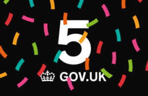 GOV.UK is 5 image