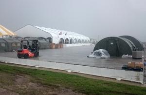 Op RUMAN UK base camp