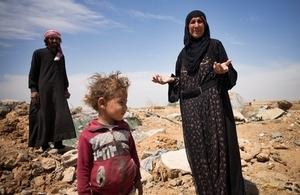 Destruction in Raqqa