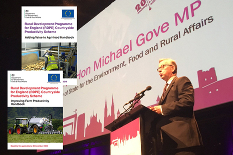 Rt Hon Michael Gove MP launches Countryside Productivity grants