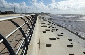 £27 million flood scheme opens in Blackpool
