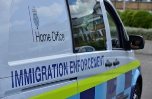 Immigration Enforcement Van