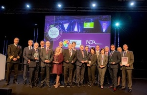 Nuclear suppliers shine at awards
