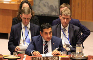 Read the 'Lord Ahmad participates in UN Security Council debates on the Sahel and Children in Armed Conflict' article