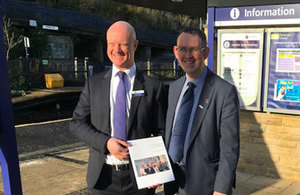 Launch of the consultation on the new community rail strategy.