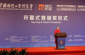 UK takes centre stage at China International Industry Fair, as Country of Honour