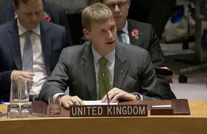 Ambassador Jonathan Allen at the Security Council Briefing on Syria Chemical Weapons
