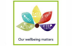 Crown Prosecution Service wellbeing logo