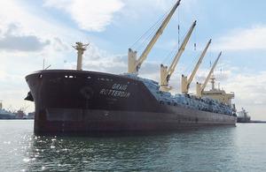 Bulk carrier Graig Rotterdam