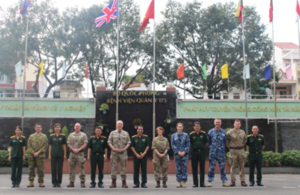 UK, Australian and Vietnamese military personnel worked together