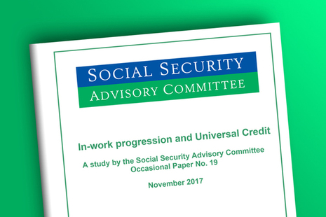 SSAC Occasional Paper 19: In-work progression and Universal Credit
