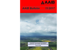 Air accident monthly bulletin November 2017