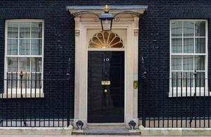 10 Downing Street door