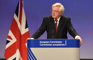David Davis Brexit negotiations