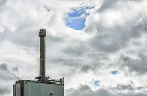 Sellafield chimney