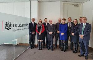 Foreign Office UK Ambassadors visit Wales
