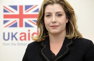 Penny Mordaunt: Secretary of State for International Development