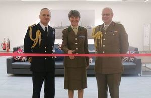 Ribbon cutting ceremony at RCDM