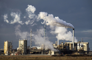 Tees Estuary petro chemical plant