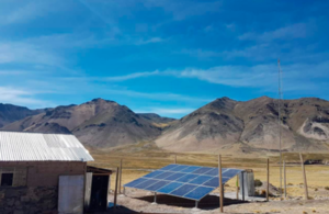 The UK-backed renewable energy project in Ocoruro (Arequipa) expanded electricity to one of Peru's most remote regions.