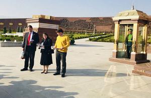 Remembrance Day commemorated ini Ashgabat