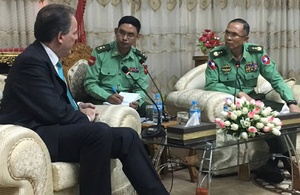 Mark Field's speech at the Asian-European Meeting, Myanmar