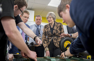 Prime Minister visits EEF Tech Hub