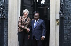 PM meets President of Ghana