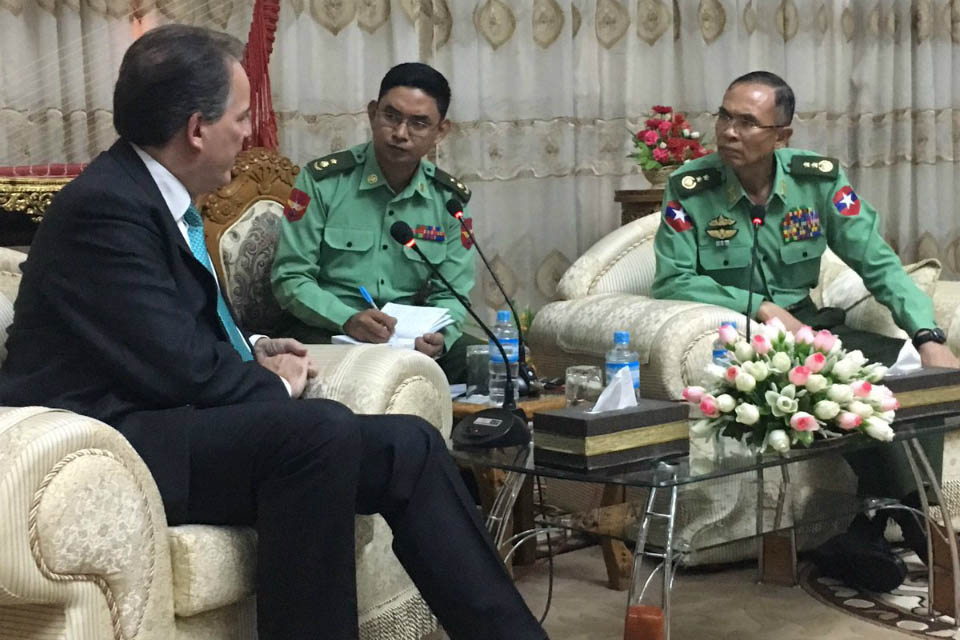 Mark Field's speech at the Asian-European Meeting, Myanmar
