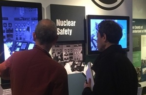 Japanese journalist learns about Sellafield