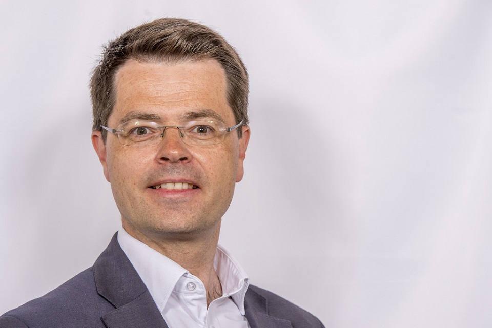 Secretary of State for Northern Ireland James Brokenshire MP