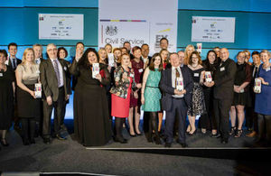 Winners of the 2017 Civil Service Awards