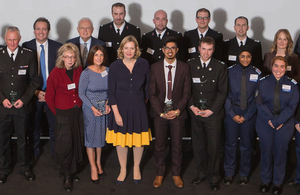 Home Secretary honours special constables and police volunteers