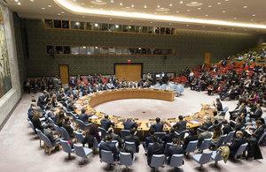 UN Security Council briefing on North Korea. (UN Photo/Rick Bajornas)
