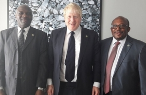 FS meets African leaders to discuss Zimbabwe