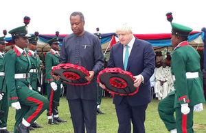 Boris in Abuja