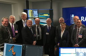 UKAEA Board at opening of the RACE facility in 2016