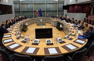 Negotiating room