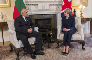 PM meeting with Prime Minister Boyko Borissov