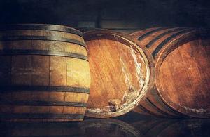 Beer barrels