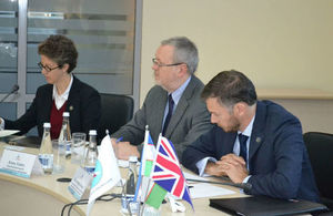 The UK National School of Government International Experts visited Uzbekistan' within 'Uzbekistan